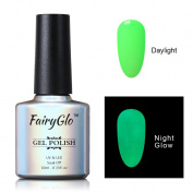 FairyGlo Long Lasting Night Glow Gel Nail Polish Soak Off UV LED Dramatic Manicure Decor Kit Nail Art For Party Carnival Dressing 10ml 6703