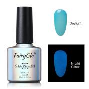 FairyGlo Long Lasting Night Glow Gel Nail Polish Soak Off UV LED Dramatic Manicure Decor Kit Nail Art For Party Carnival Dressing 10ml 6704