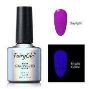 FairyGlo Long Lasting Night Glow Gel Nail Polish Soak Off UV LED Dramatic Manicure Decor Kit Nail Art For Party Carnival Dressing 10ml 6706