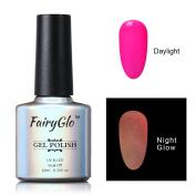 FairyGlo Long Lasting Night Glow Gel Nail Polish Soak Off UV LED Dramatic Manicure Decor Kit Nail Art For Party Carnival Dressing 10ml 6708