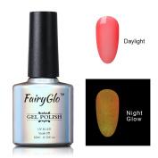 FairyGlo Long Lasting Night Glow Gel Nail Polish Soak Off UV LED Dramatic Manicure Decor Kit Nail Art For Party Carnival Dressing 10ml 6714