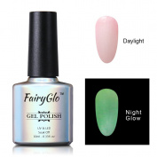 FairyGlo Long Lasting Night Glow Gel Nail Polish Soak Off UV LED Dramatic Manicure Decor Kit Nail Art For Party Carnival Dressing 10ml 6723