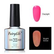FairyGlo Long Lasting Night Glow Gel Nail Polish Soak Off UV LED Dramatic Manicure Decor Kit Nail Art For Party Carnival Dressing 10ml 6711