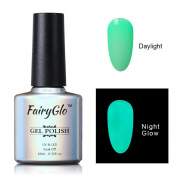 FairyGlo Long Lasting Night Glow Gel Nail Polish Soak Off UV LED Dramatic Manicure Decor Kit Nail Art For Party Carnival Dressing 10ml 6712