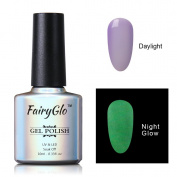 FairyGlo Long Lasting Night Glow Gel Nail Polish Soak Off UV LED Dramatic Manicure Decor Kit Nail Art For Party Carnival Dressing 10ml 6715