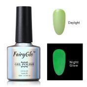 FairyGlo Long Lasting Night Glow Gel Nail Polish Soak Off UV LED Dramatic Manicure Decor Kit Nail Art For Party Carnival Dressing 10ml 6720