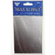 13cm x 9.5cm Retangular Glass Craft Mirror 1 Piece
