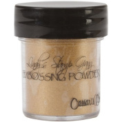 Lindy's Stamp Gang 2-Tone Embossing Powder, 15ml Jar, Ceasar's Gold by Lindy's Stamp Gang