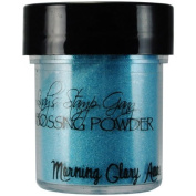 Lindy's Stamp Gang 2-Tone Embossing Powder, 15ml Jar, Morning Glory Azure by Lindy's Stamp Gang