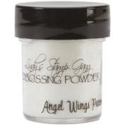 Lindy's Stamp Gang 2-Tone Embossing Powder, 15ml Jar, Angel Wings Peacock by Lindy's Stamp Gang