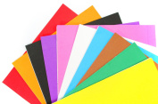 ALL in ONE Mixed Colour 10pcs Self Adhesive Eva Foam Sheet for DIY Craft 21x30cm