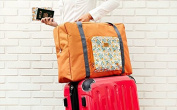 BB & Love Waterproof Foldable Large Capacity Travel Luggage Duffle Storage Bag
