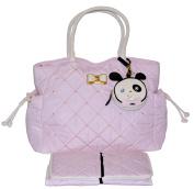 Betsey Johnson 3pc Drawstring Nappy Bag Baby Shoulder Handbag