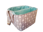 Danha Grey Arrow Nappy Storage Caddy