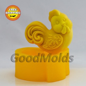 Soap Mould Cock Food-grade Silicone Moulds animal Mould Mould for Soap.
