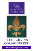Fleur De Lys - Goldwork Kit by Benton & Johnson