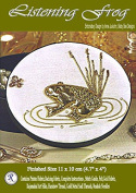 Listening Frog - Rajmahal Sadi Metal Thread and Art Silk Kit