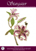 Stargazer Lily - Rajmahal Sadi Metal Thread and Art Silk Kit