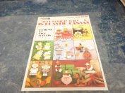 More Holiday Magnets in Plastic Canvas Leaflet Dick Martin Leisure Arts #1138
