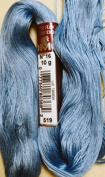 FLOCHE-DMC COTON FLOCHE A BRODER-colour 519-BLUE