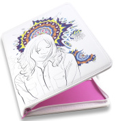 Colouring Book Folio (Beautiful Dreamer) - Organises and Protects Two Adult Colouring Books and 24 Coloured Pencils - Two Pockets for Crafting Tools - Only from Colorolio®