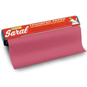 Saral Roll 12in x 12ft (305mm x 3.35 metres) Red