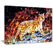 Digital Art PT2417-40-30 On the Prowl Cheetah Large Animal Wall Art