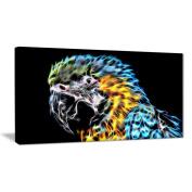 Digital Art PT2412-40-20 Polly Want A Cracker Parrot Art Large Animal Wall Art