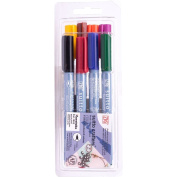 Zig Suitto Crafters Brush Marker Set 8/Pkg-