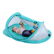 Gembaby Instant Pop Up Portable Beach Tent,Travel Tent for Baby,Protect from Sun & Bugs,Plus 2 Stake Pegs