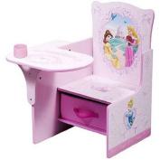 Disney Princess Pull-Out Storage Bin, Desk & Chair with Storage Bin, Pink