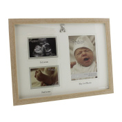Simplistic Neutral Baby Scan Collage Frame By Haysom Interiors