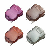 ADVANTUS Panel Wall Clip for Fabric Panels, Standard Size, 40-Sheet Capacity, Pack of 20 Assorted Diesel Colours