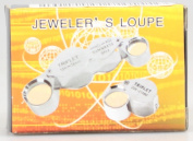 Top McKinley 30X 21mm Jewellery Magnifying Glass Loupe Magnifier--Golden