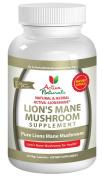 Activa Naturals Lions Mane Mushroom Supplement - 120 Veg. Caps