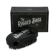 The Rugged Bros New York City 100% Wild Boar Bristle Beard Brush