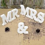 MR & MRS Wooden Letters Wedding Decoration Wedding Gift