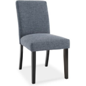 Upholstered Parsons Dining Chair, Pepper