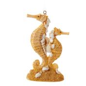 Christmas Ornament Sea-Life Sand and Shells Double Seahorses by Kurt Adler 11cm