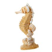 Christmas Ornament Sea-Life Sand and Shells Seahorse by Kurt Adler 11cm