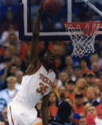 KEVIN DURANT UNIVERSITY OF TEXAS LONGHORNS 8X10 SPORTS ACTION PHOTO