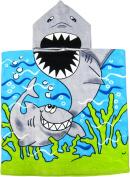 Shark Hooded Poncho Bath & Beach Towel