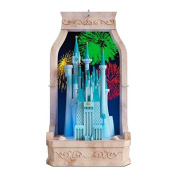 Hallmark 2016 Christmas Ornament Cinderella's Castle From Disney Cinderella Musical Ornament With Light
