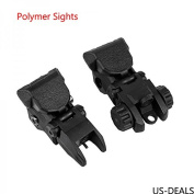 US-DEALS Polymer flip up back up sights CQB