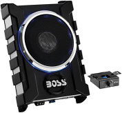 Boss Audio Systems BASS1600 1600W 25cm Low Profile Amplified Subwoofer With Remote Subwoofer Control