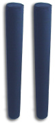 90cm Pair of Boat Trailer Guide Pole Pad and Cover - Heavy Duty Canvas - Capped Ends - UV Treated - Made in USA - NAVY