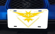 Detailed Fan Made Instinct Art Aluminium Licence Plate for Car Truck Vehicles