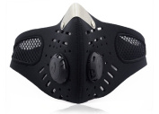 Motorcycle Ski Anti-pollution Face Mask Outdoor Sports Mouth-muffle Dustproof With Filter