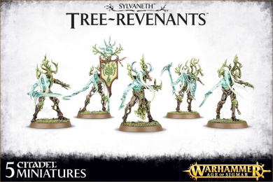 Warhammer Age of Sigmar Sylvaneth Tree-Revenants