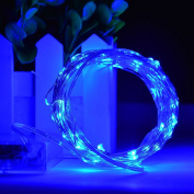 XFT-CK 10m/33FT 100 LEDs String Light With Battery Powered - Fairy Lights Starry Lights for Christmas Halloween Party Decoration£¨Blue£©